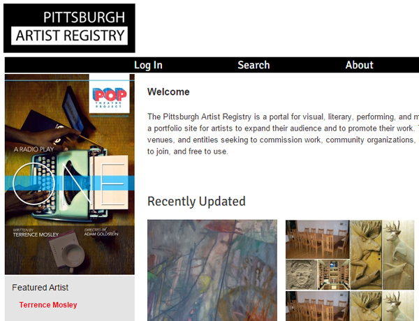Pittsburgh Artist Registry